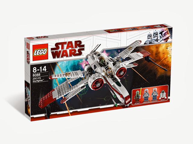 8088 レゴ ARC-170 スターファイター