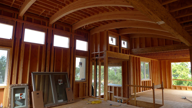 Curved Vaulted Ceiling Need Light Ideas