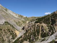Col d'Izoard vu depuis la Casse Déserte