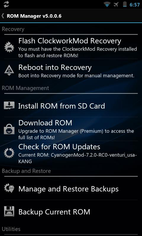 Rom manager Screenshot-1332395871175