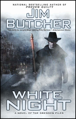 Book Summary: White Night (Dresden Files, Book 9), By Jim Butcher Hardback Image