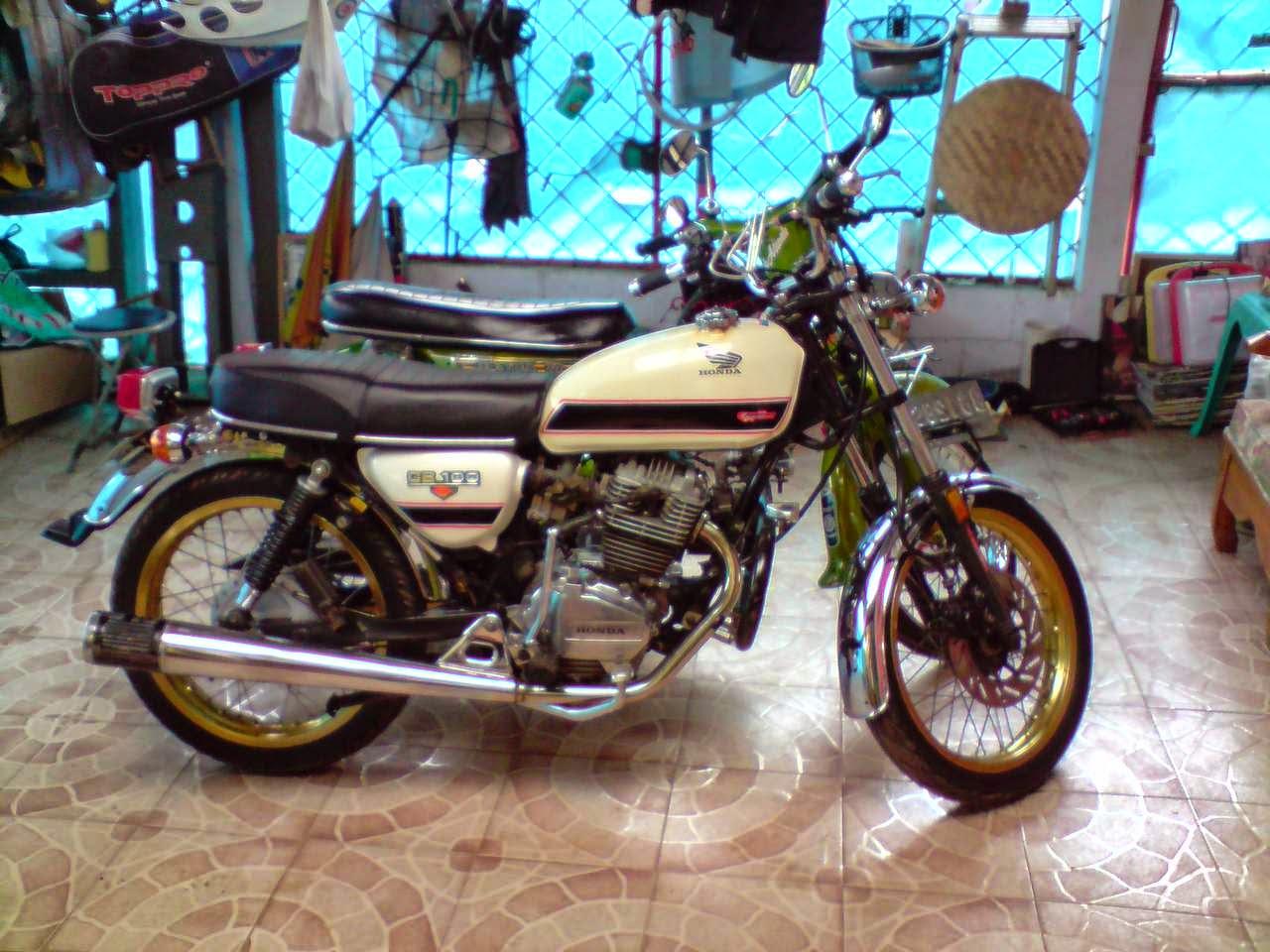 Kumpulan Foto Modifikasi Motor Cb Jap Style Terlengkap Gubuk