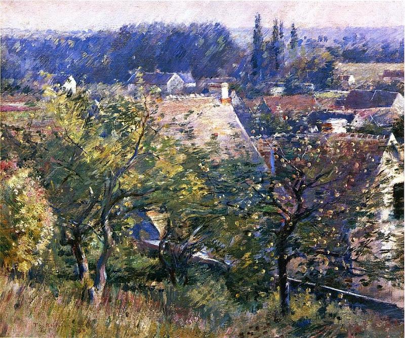 Theodore Robinson - Saint Martin's Summer, Giverny