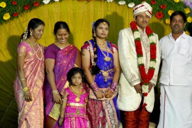 Un mariage à l'indienne