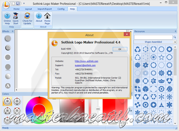 Sothink Logo Maker Professional 4.4