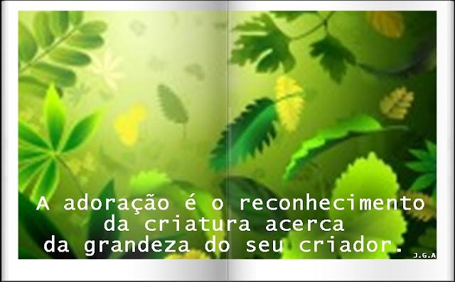 ADORAÇÃO - 01