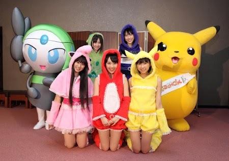 Momoiro Clover Z & Pokémon