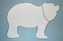 All Free Patterns | BLACK BEAR TEMPLATE CRAFT PATTERN
