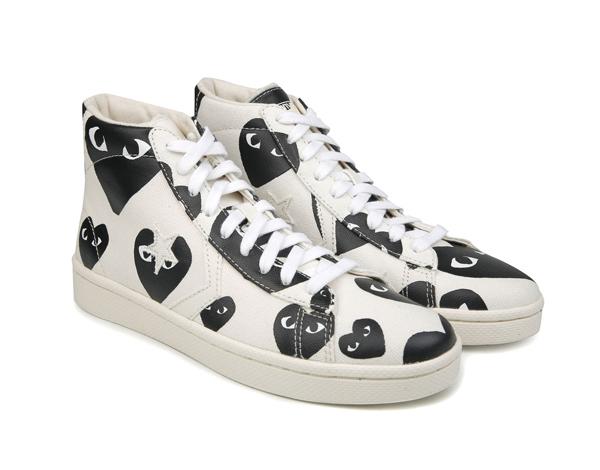 *COMME des GARCONS PLAY X CONVERSE:不規則愛心鞋! 1