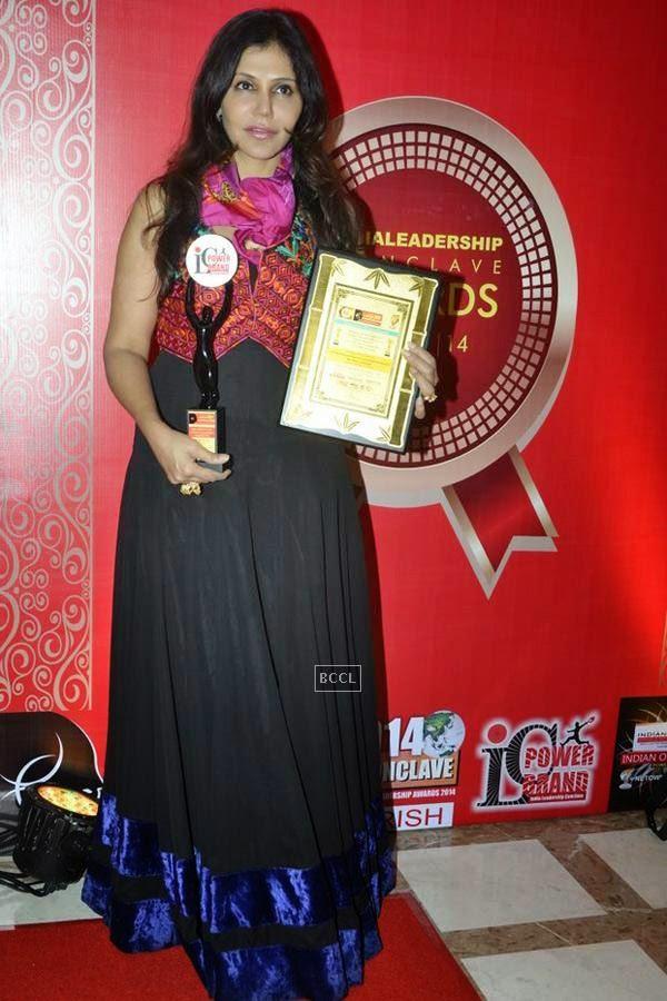 Nisha Jamwal during the India Leadership Conclave, held at Hilton, in Mumbai. (Pic: Viral Bhayani)