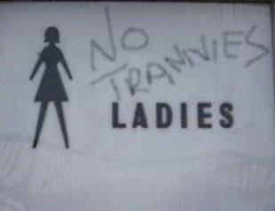 Trannies In Public Bathroom 93