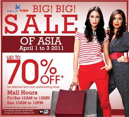 Manila Shopper Sm Moa 3 Day Sale