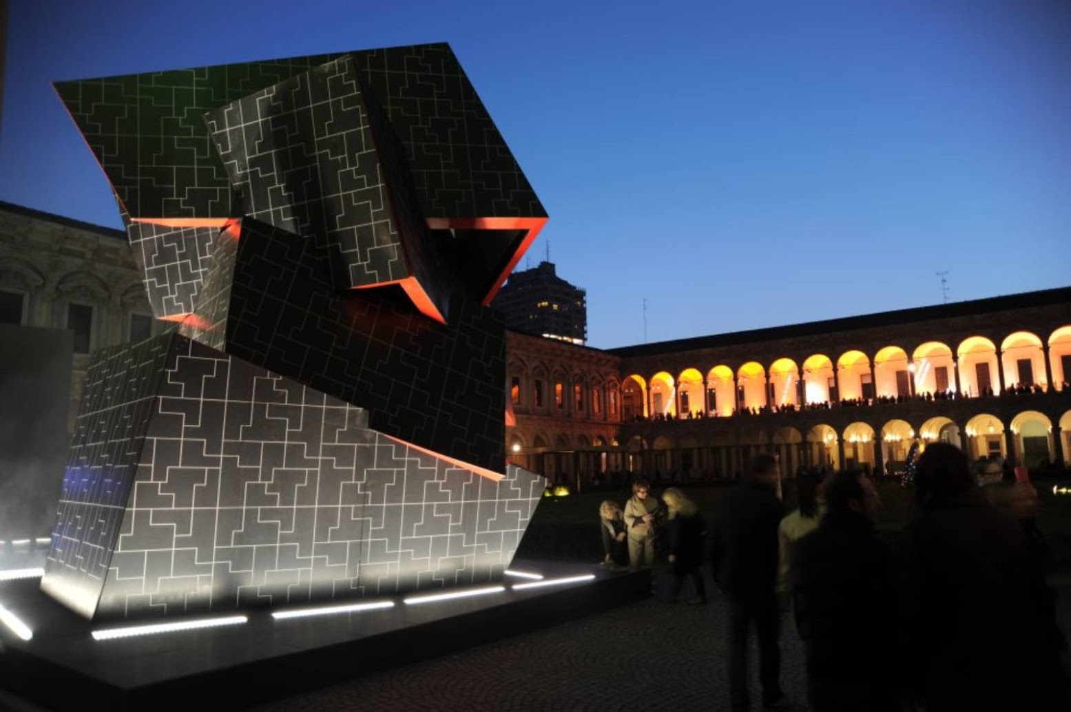 Milano, Italia: [BEYOND THE WALL BY DANIEL LIBESKIND]