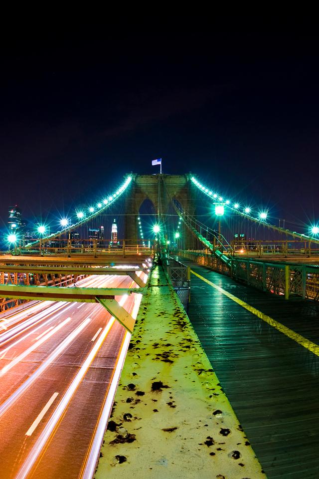 Beautiful Bridge Picture Wallpaper For iPhone 4