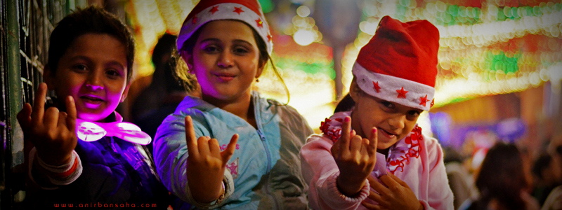 Bow Barracks, Kolkata, Christmas