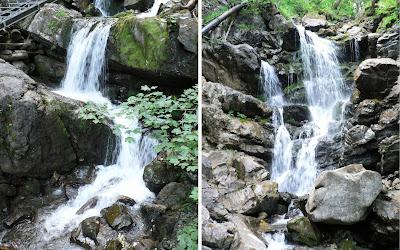 Wasserfälle im Gaisalptobel Weg zur Gaisalpe Oberstdorf Allgäu