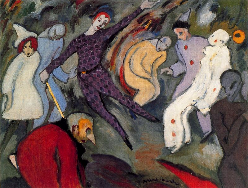 Albert Bloch - Harlequinade