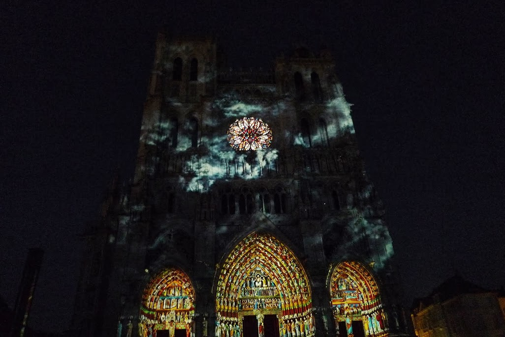amiens illuminations cathédrale
