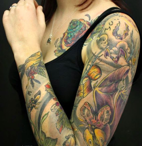Full Sleeve Tattoos