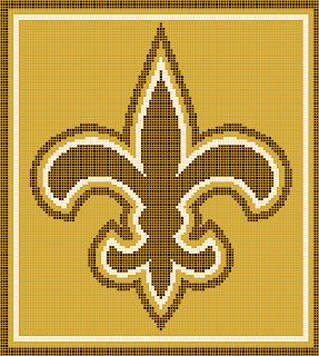 Crocheted LSU Blanket - Seeking Patterns - Crochetville
