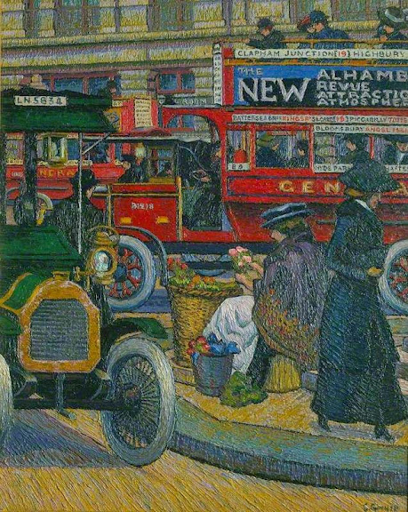 Charles Ginner - Piccadilly Circus