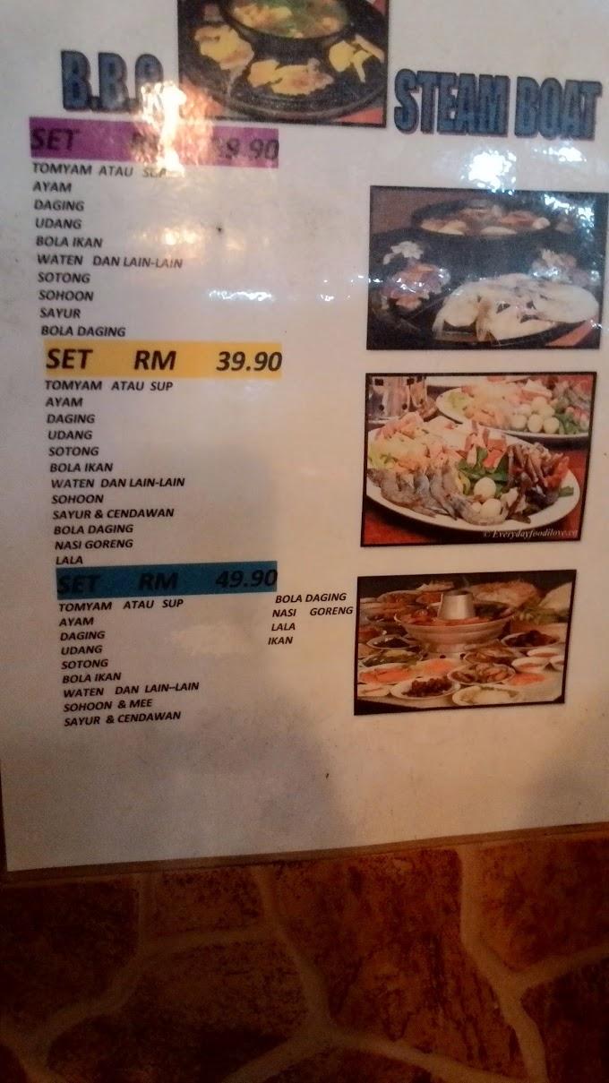 Food Review : Aman Seafood and Steamboat, Klang