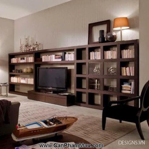 Các mẫu thiết kế nội thất phòng đọc sách P1-4