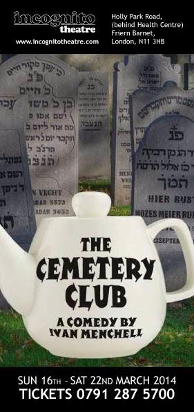 The Cemetery Club Flyer