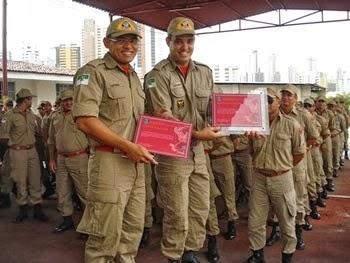 Bombeiro potiguar é homenageado com a medalha Pernambucana do Mérito Bombeiro Militar