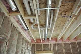 Picture of Ryan Homes Florence model plumbing