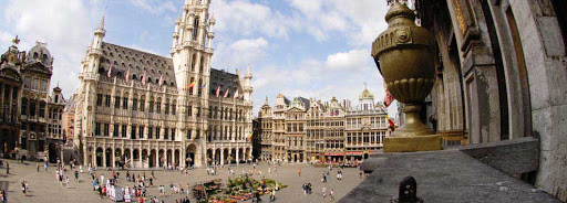 Bruselas Valonia: plaza del Ayuntamiento de Bruselas