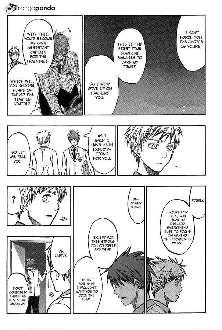 Kuroko no Basket Manga Chapter 206 - Image 07