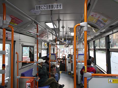 西日本鉄道 渡辺通り幹線バス 2770 車内