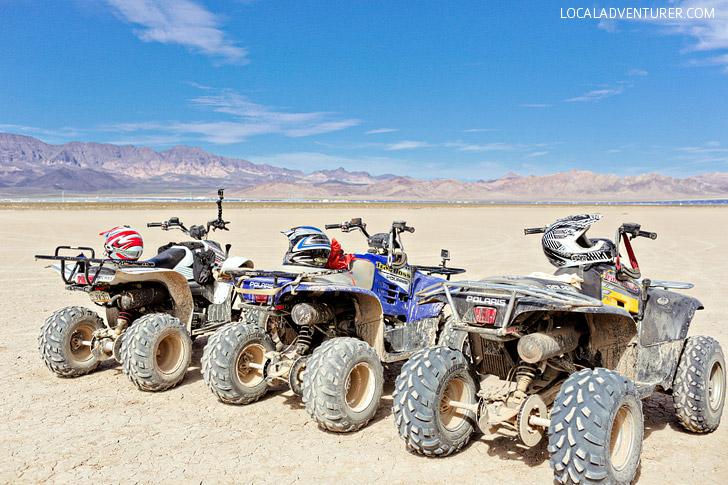 ATV Tours with DeTour Vegas // Top 10 Things to Do in Las Vegas.