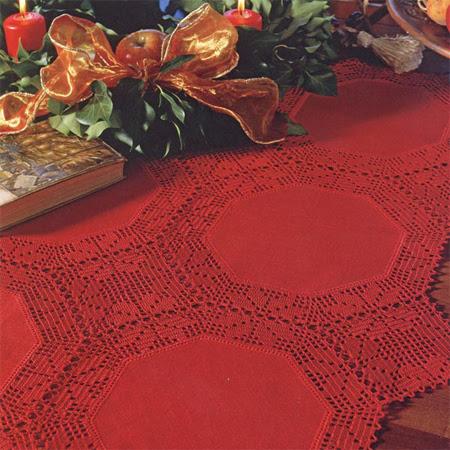 Toalha Vermelha Natal