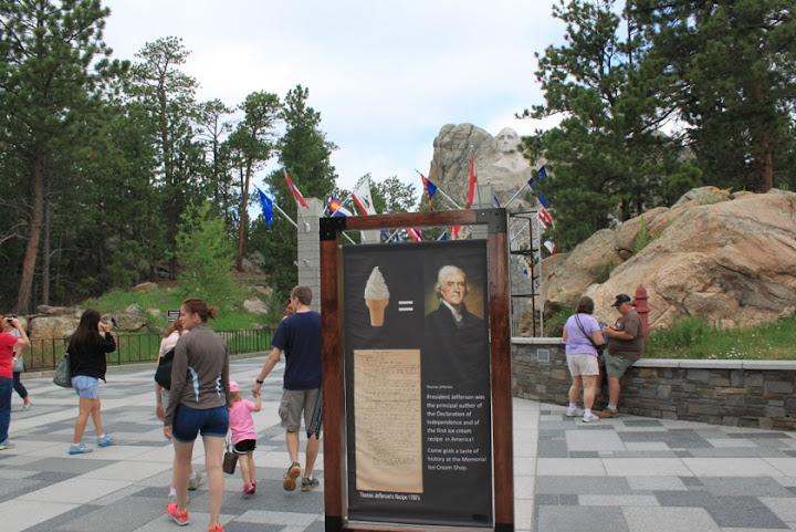 Ice Cream at Mt Rushmore