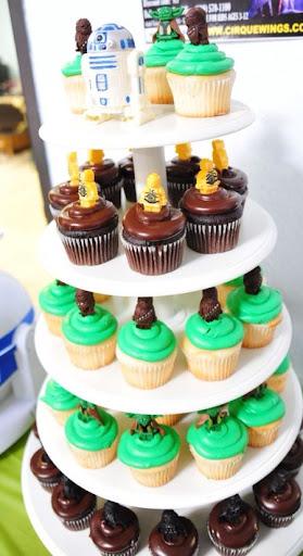LEGO Star Wars Cupcake