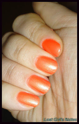pop nail glam polish ablaze