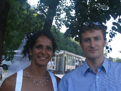 Samia Hirèche avec le Président Pierre Nougarède