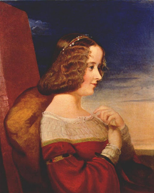 George Frederick Watts - Portrait of Lady Neville 1844