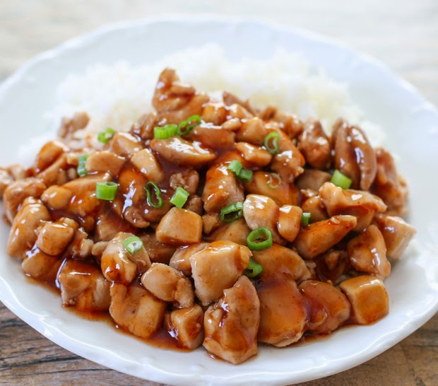 Healthier Honey Sriracha Chicken photo