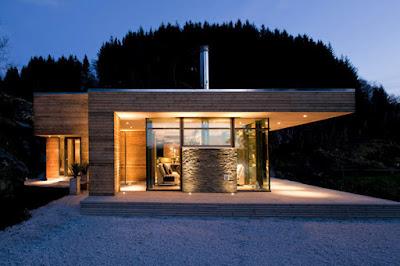 Cabin GJ 9 in Norway 1 1 Kabin Mungil Yang Beradaptasi Dengan Keadaan Lingkungan