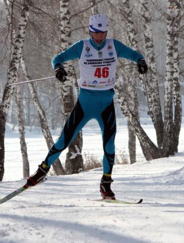 Первый этап Кубка России по Зимнему триатлону - Засыпкин Валентин