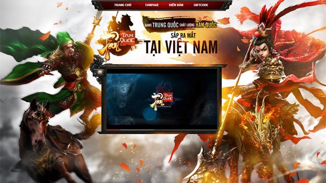 Tân Tam Quốc ra mắt trang giới thiệu tiếng Việt 2