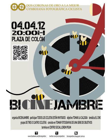 Bicienjambre de abril, dedicado al cine