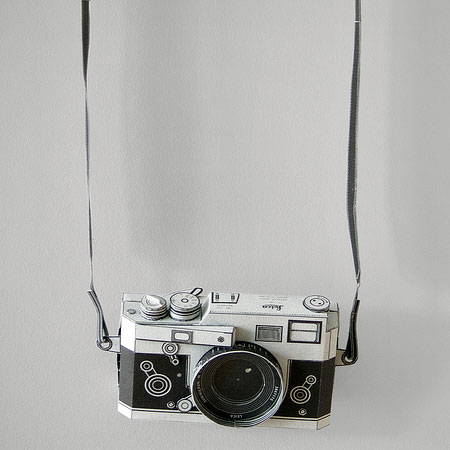 DIY Leica M3 Camera Papercraft That Really Works