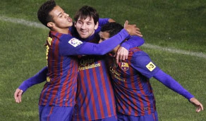Goles Barcelona Athletic Bilbao [5-1] Video Messi 1 Dic
