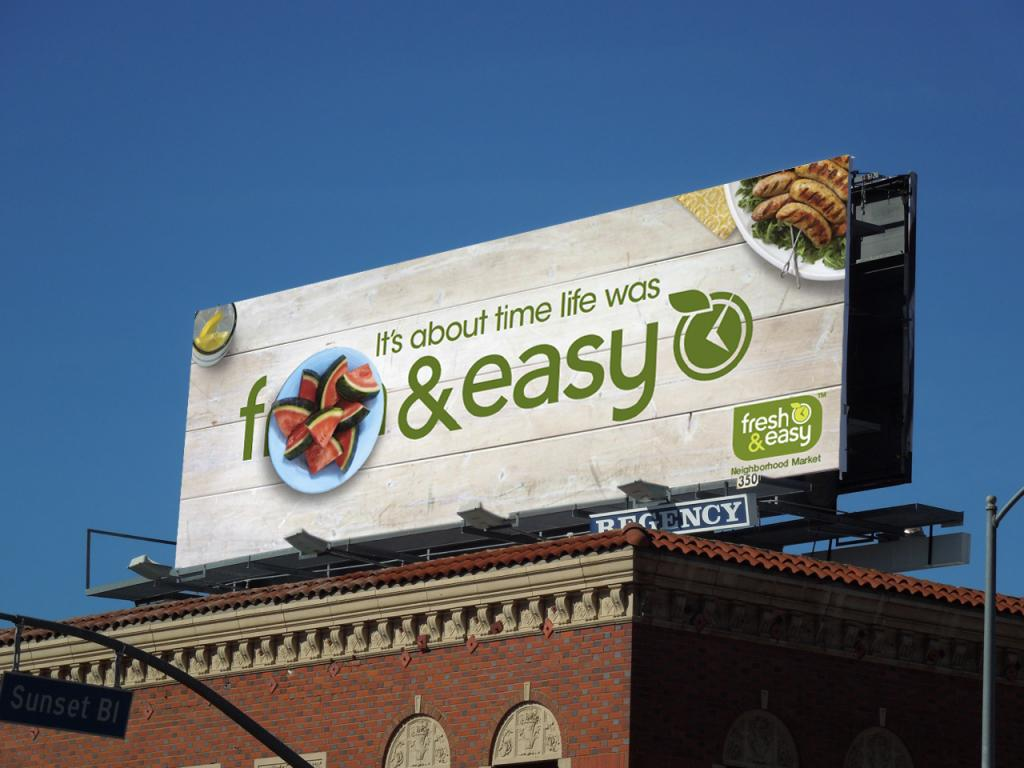 f&easy The Musical Ad for Fresh & Easy Neighborhood Markets