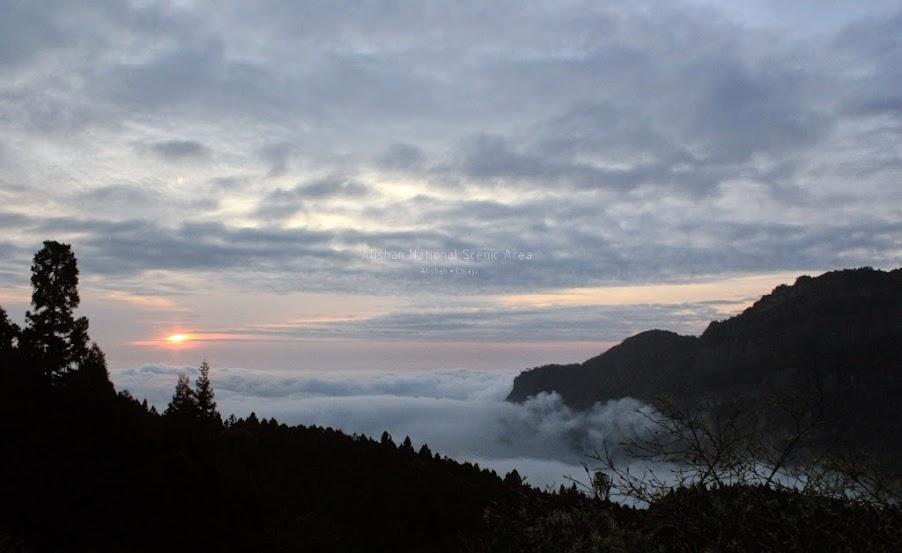嘉義阿里山夕陽-4