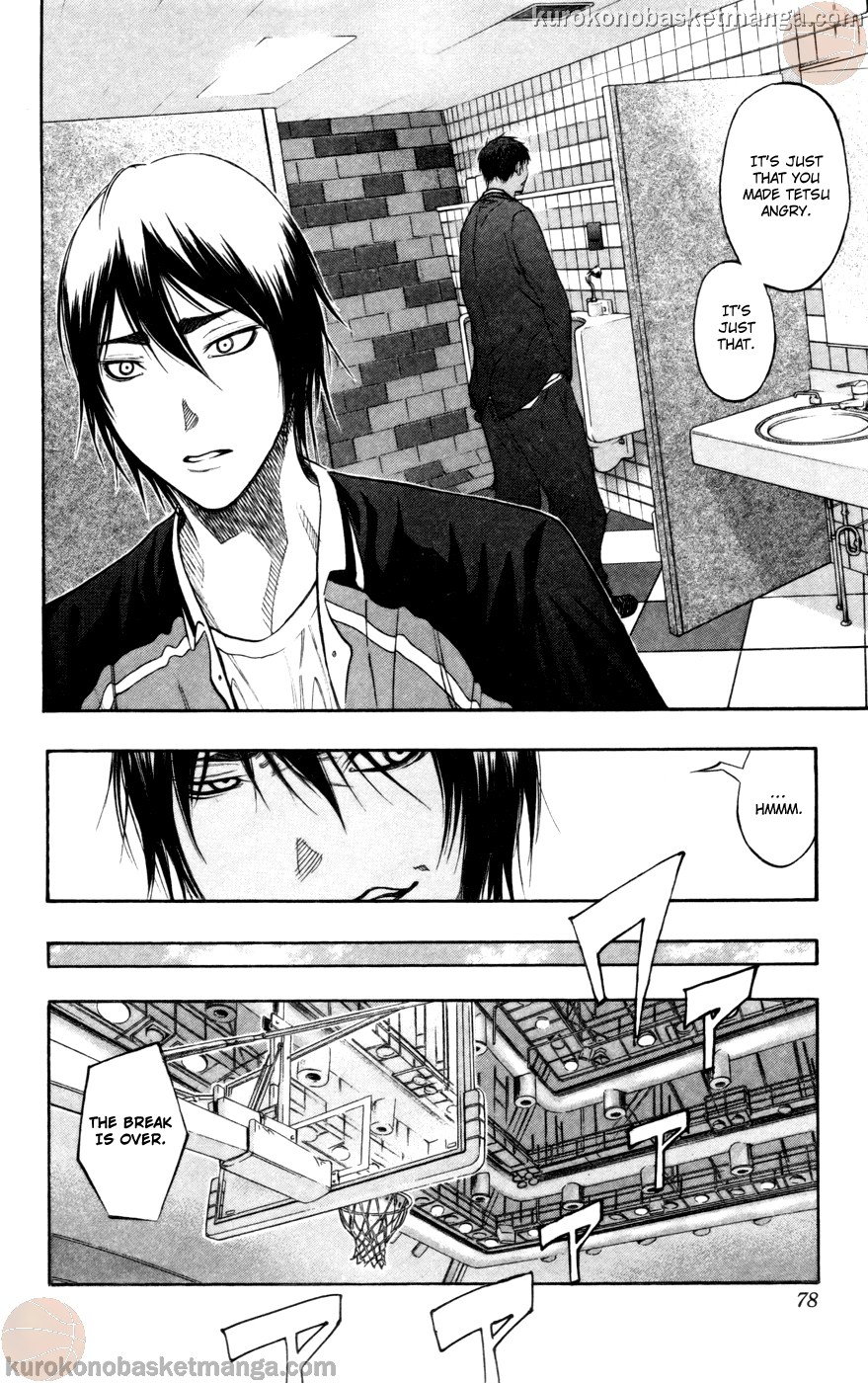 Kuroko no Basket Manga Chapter 103 - Image 12